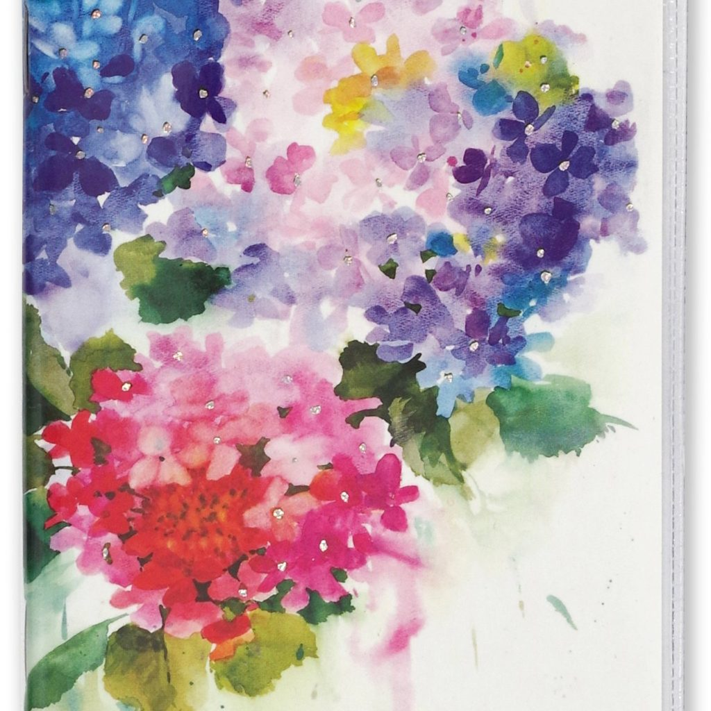 2 Year Pocket Calendar 2019 And 2020 With Hydrangeas Planner 24 Month