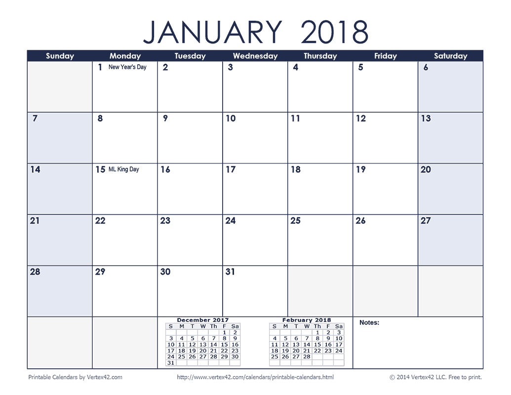 2019 Calendar Landscape Year At A Glance In Color With Free Printable Monthly Calendars