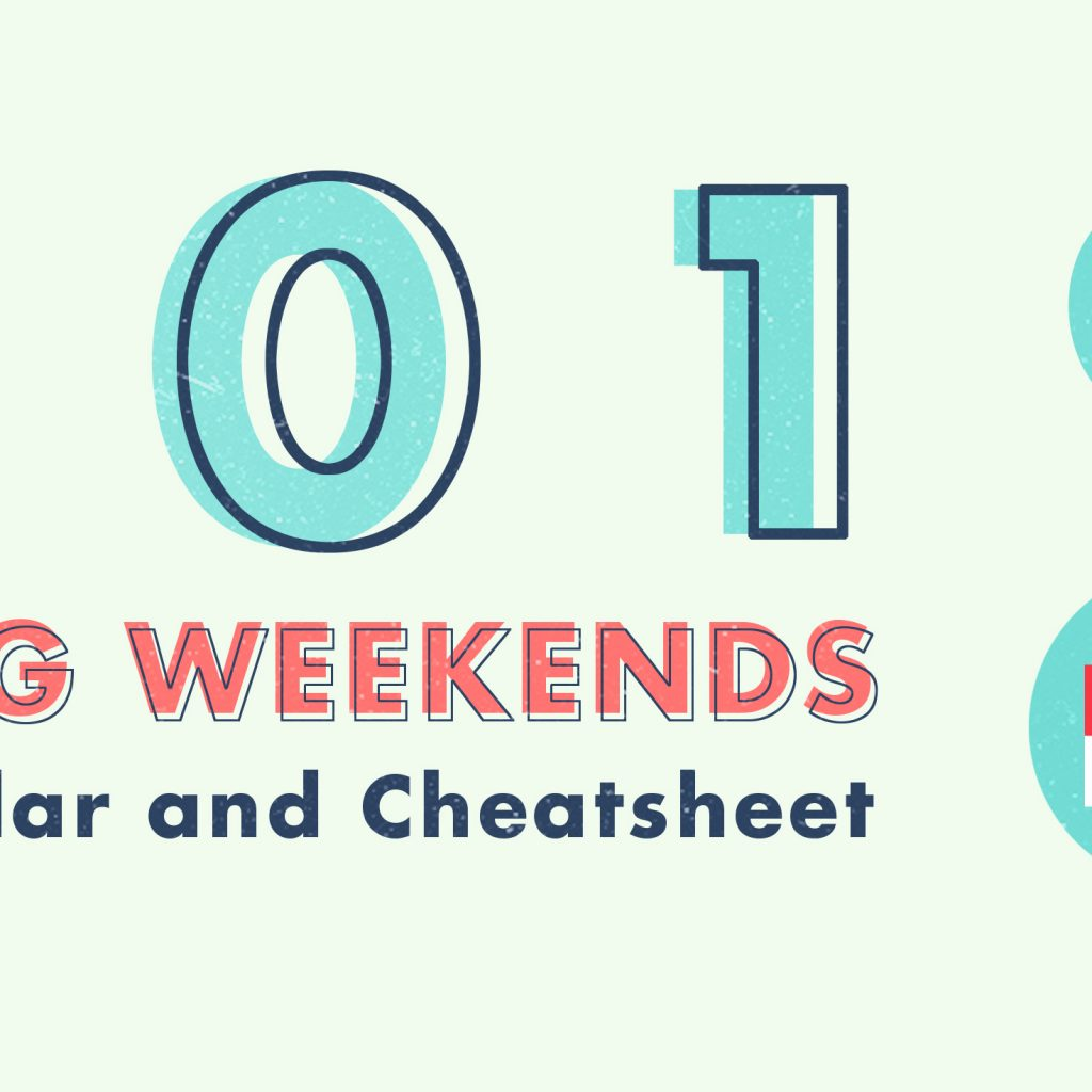 2019 Chinese New Year Calendar Singapore With 6 Long Weekends In Bonus Cheatsheet