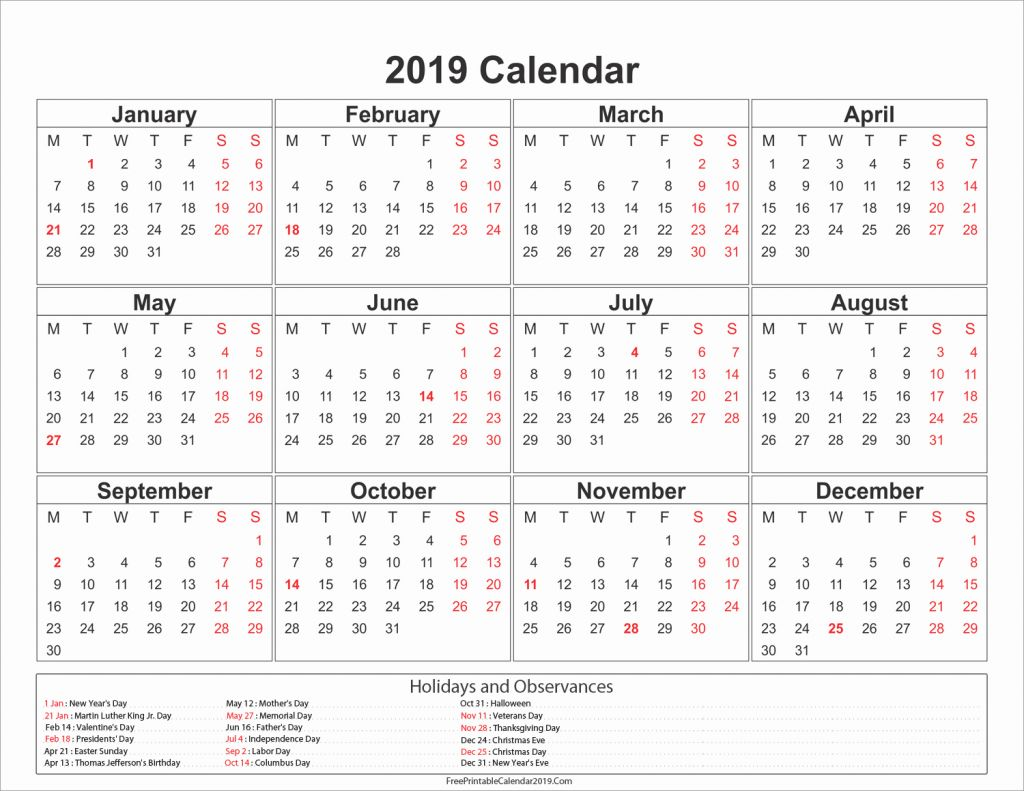 2019 Full Year Calendar Template Smartsheet With Excellent 47 Sample Ben10gameshub Com