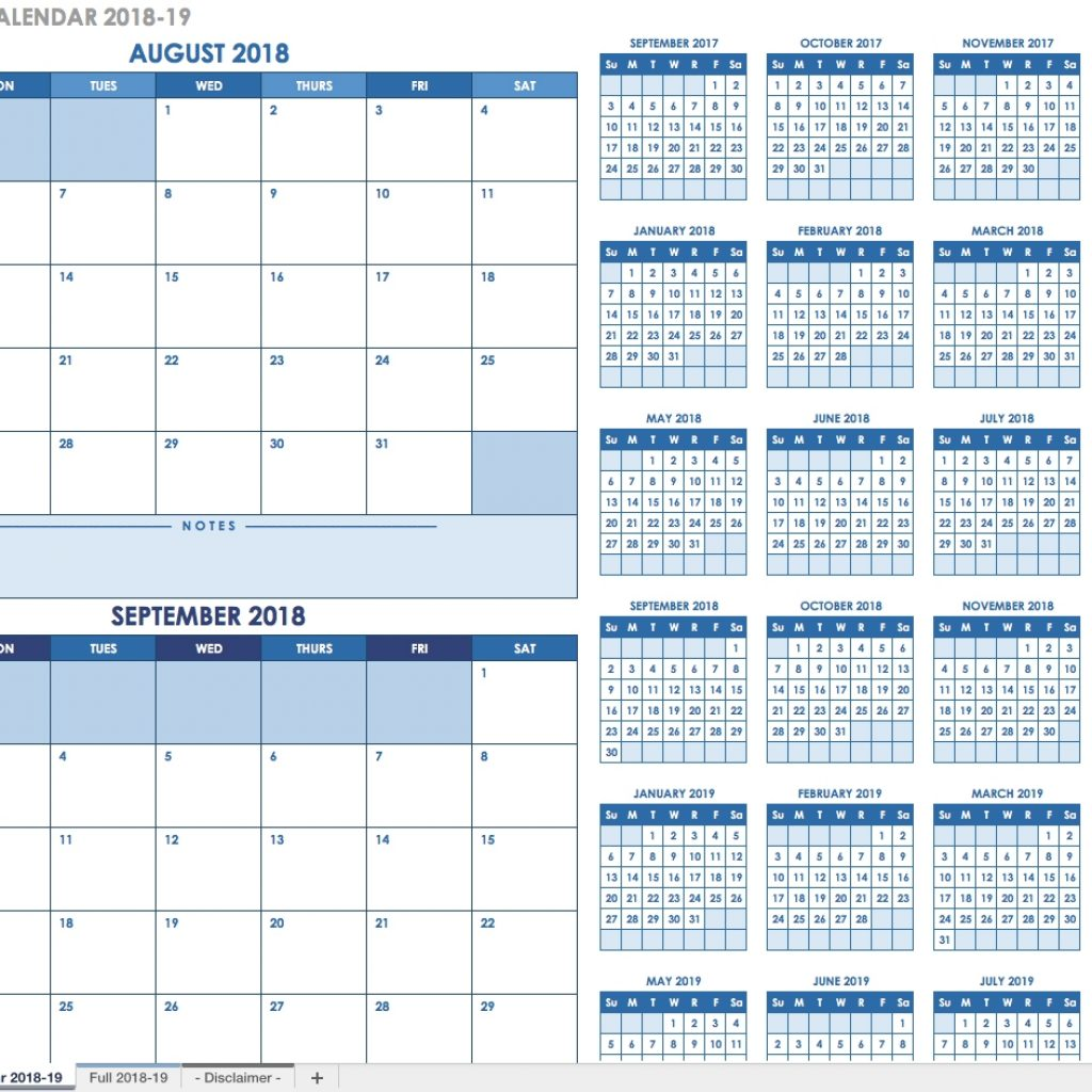 2019 Full Year Calendar Template Smartsheet With Free Blank Templates Intended For Biweekly