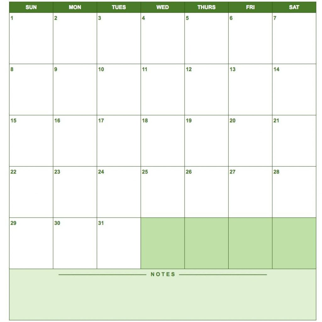 2019 Full Year Calendar Template Smartsheet With Free Google Templates