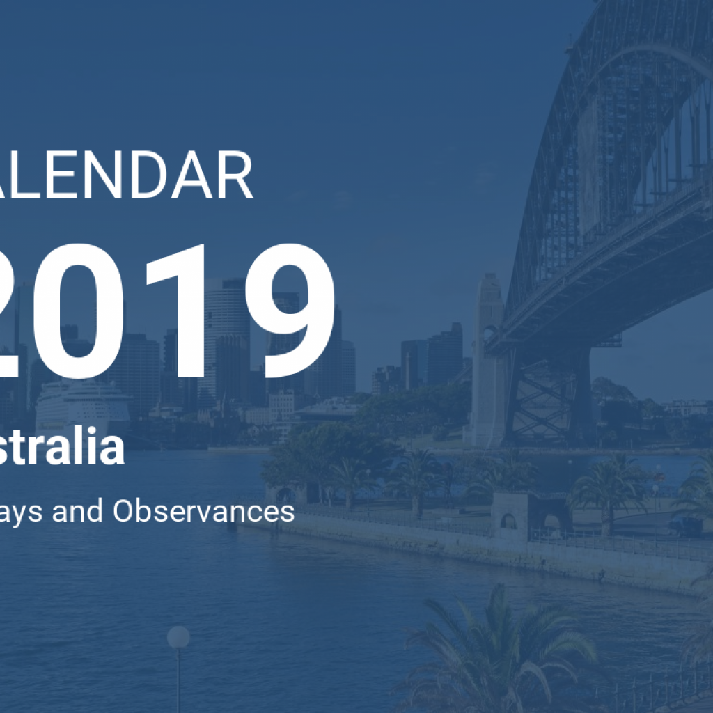 2019 Qld School Year Calendar With Australia