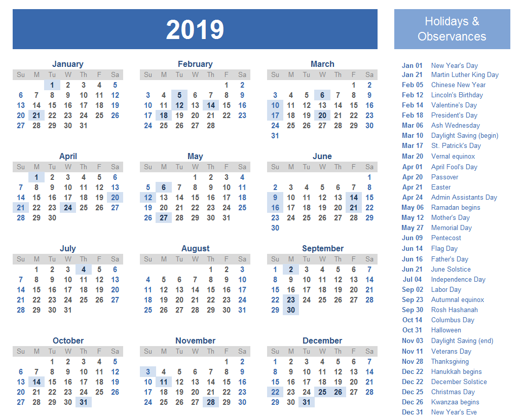 2019 Qld School Year Calendar With Get Free Federal Holidays Printable QLD Template