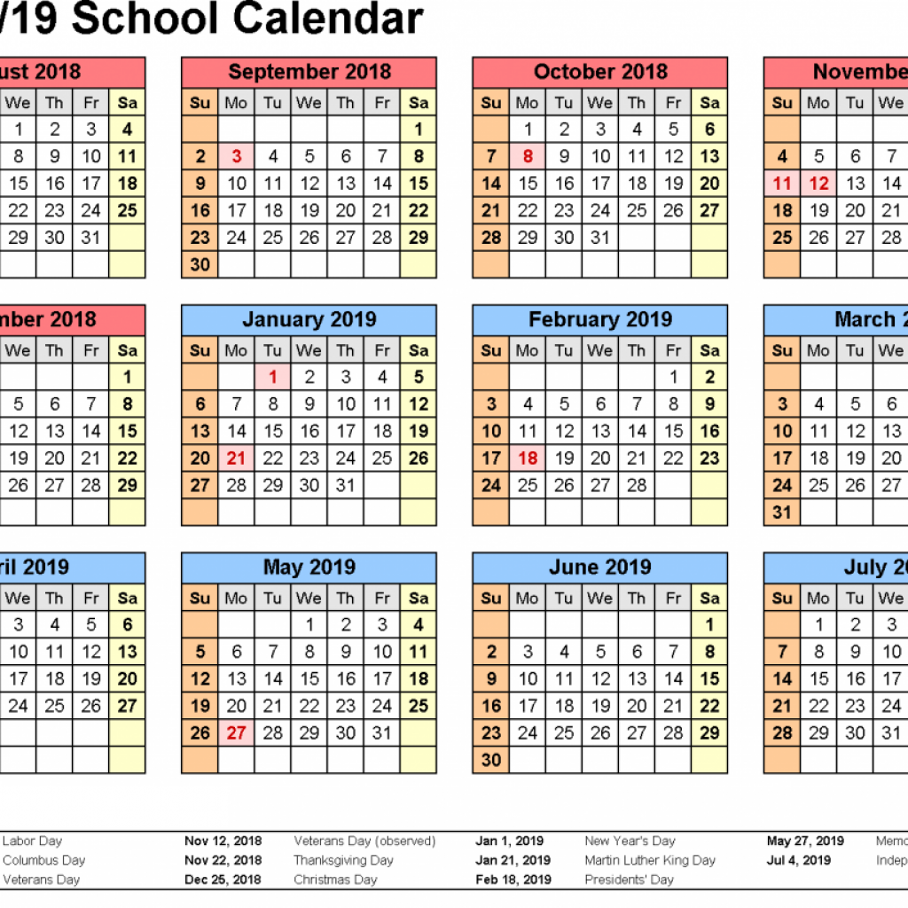 2019 Qld School Year Calendar With Get Free Kuwait Holidays Printable