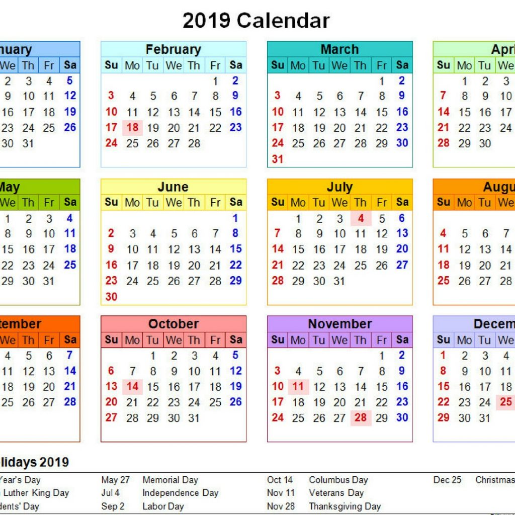 2019 Qld School Year Calendar With Printable Yearly Template QLD Holidays