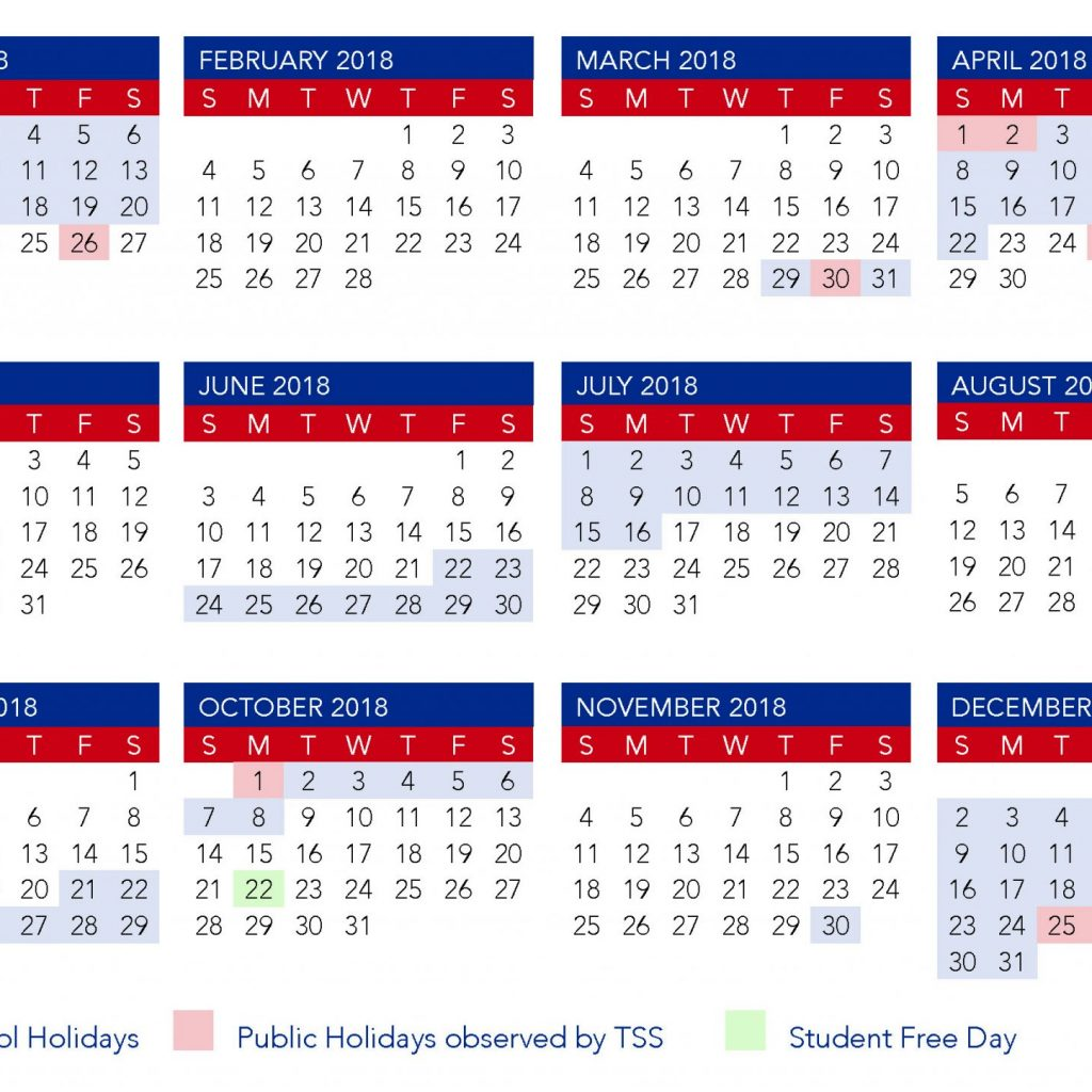 2019 Qld School Year Calendar With Term Dates The Southport