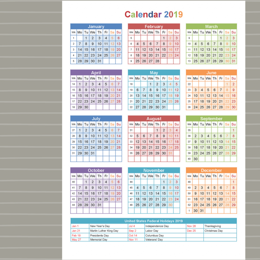 2019 School Year Calendar Nsw With Holidays 2 Printable Coloring Page For Kids