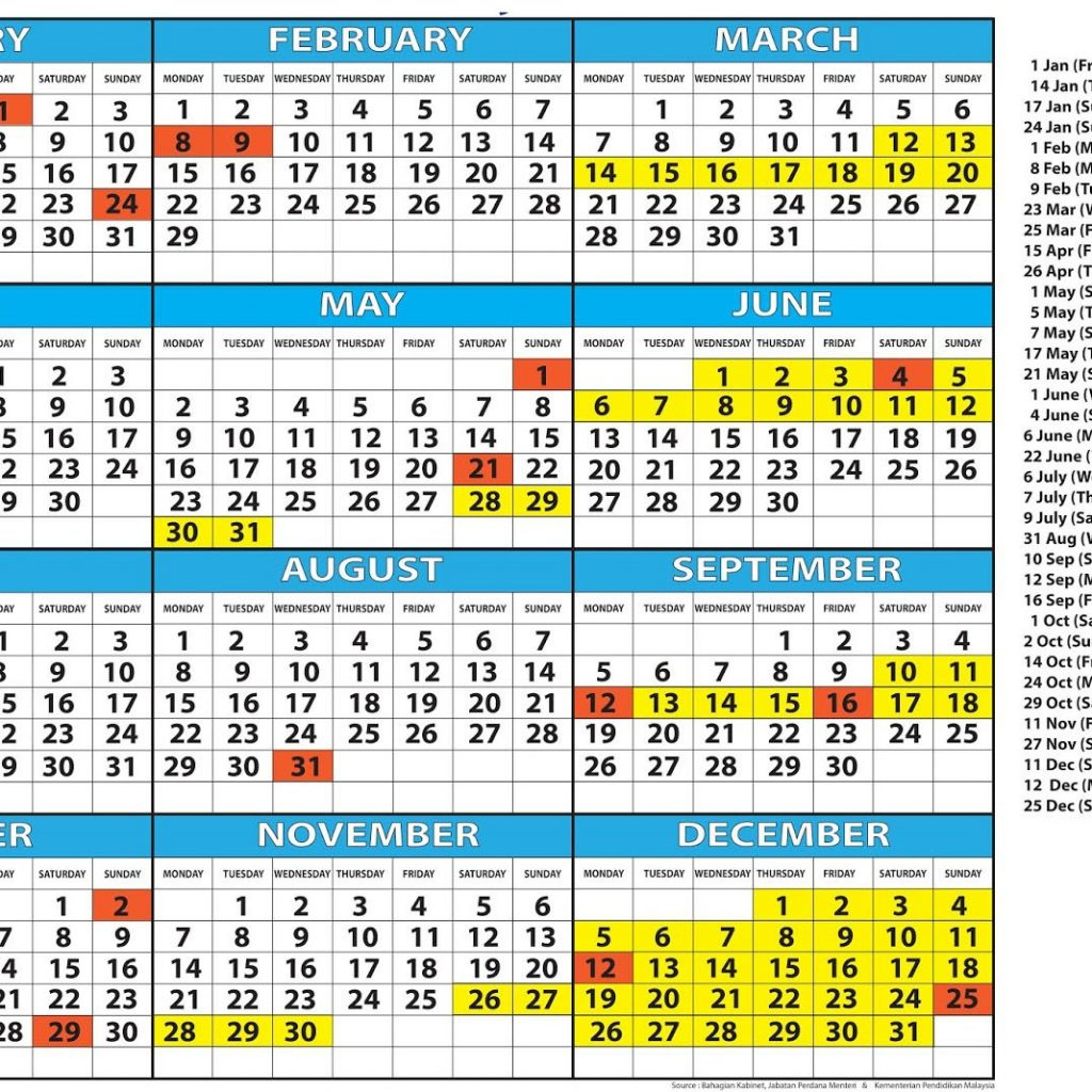 2019 School Year Calendar With Free Holidays London Templates November 2018