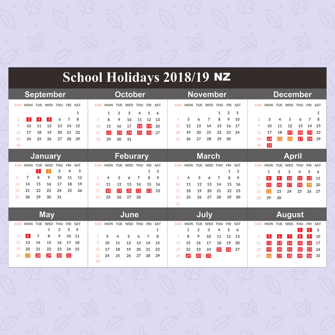2019 Vic School Year Calendar With Free Blank Holidays Victoria Templates July