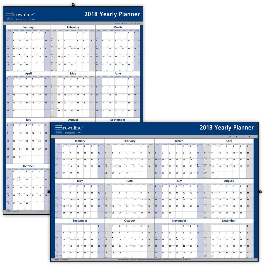 2019-year-wall-calendar-with-brownline-yearly-madill-the-office-company