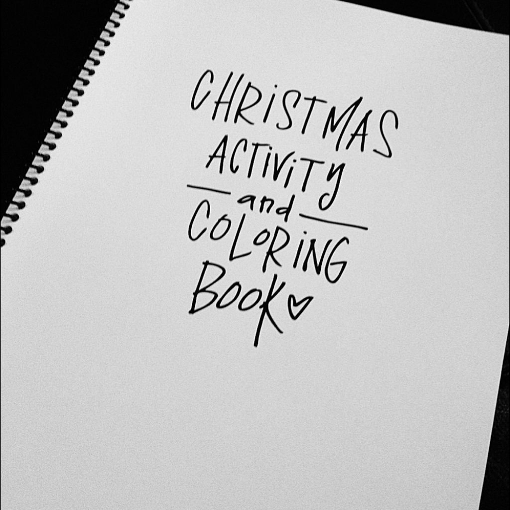 8 X 11 Christmas Coloring Pages With Books ARE HERE Valerie Wieners Art