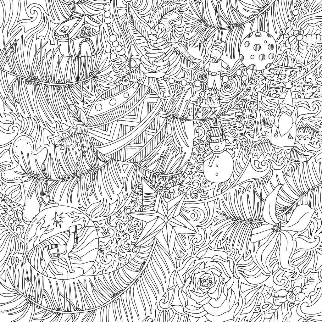 A Christmas Coloring Book With Amazon Com The Magical Colouring Books