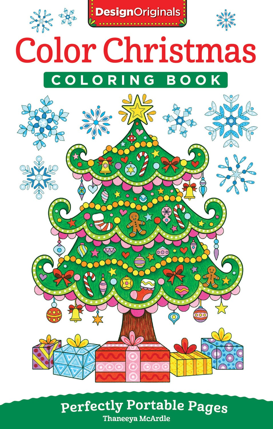 A Christmas Coloring Book With Color