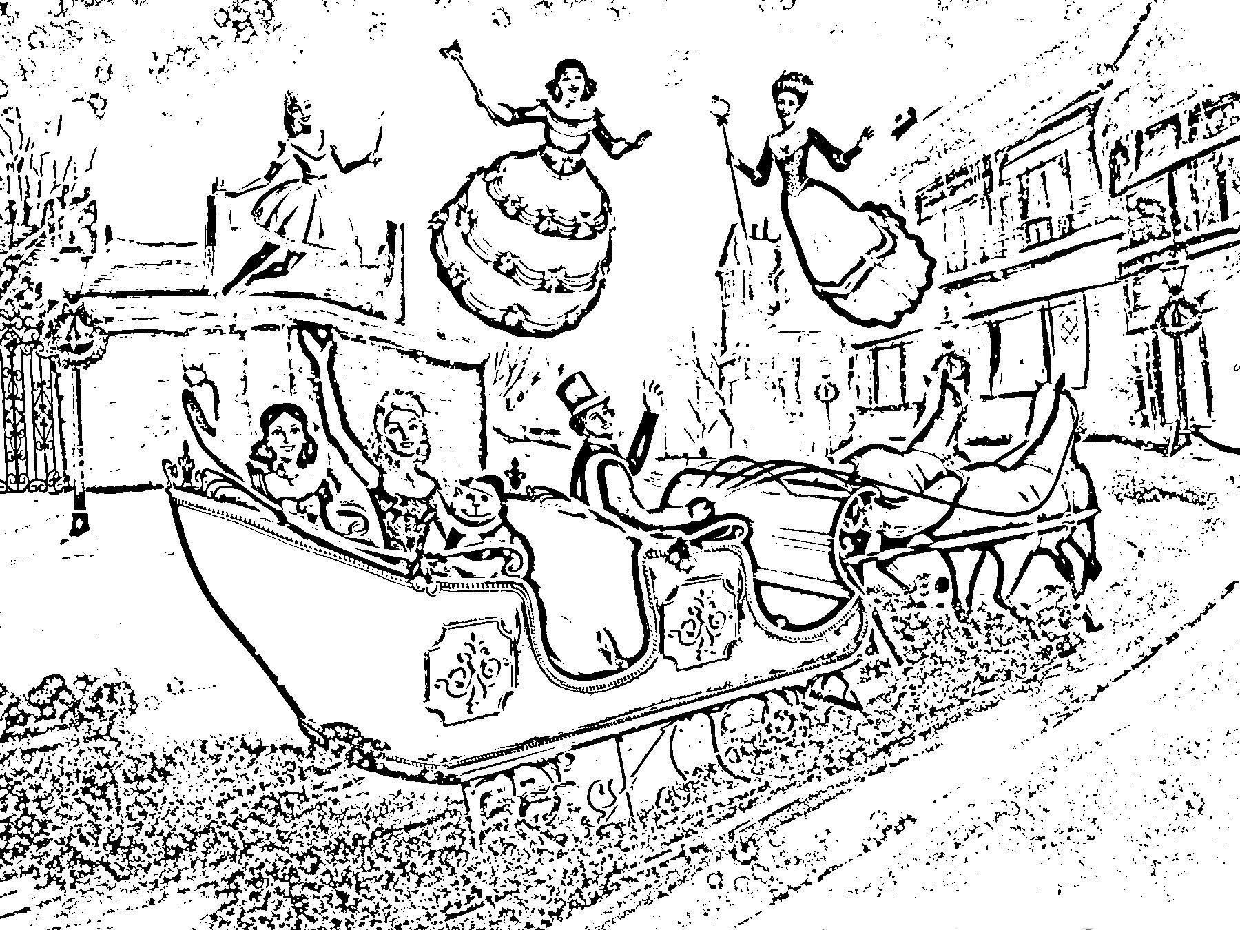 Barbie Christmas Coloring Pages To Print With A Carol