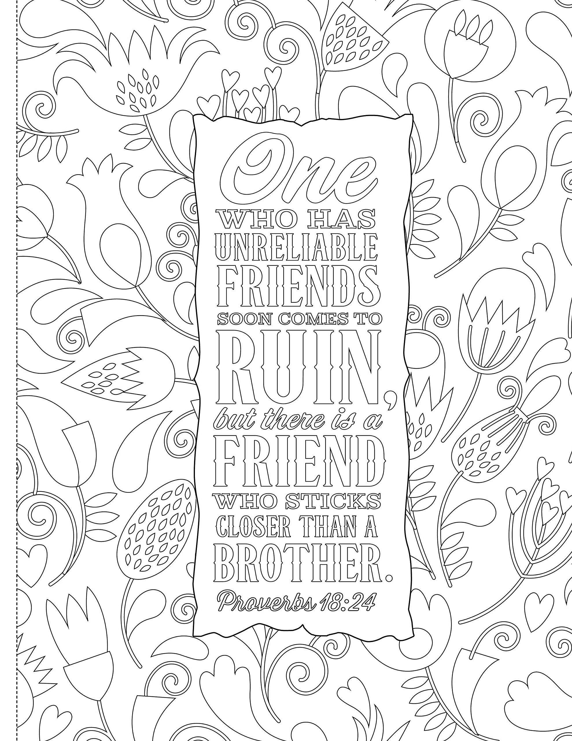 Bible Christmas Coloring Pages Printable With Page