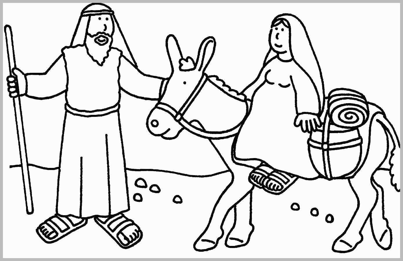 Bible Christmas Coloring Pages Printable With Story Color Save Amazing 2550 3300