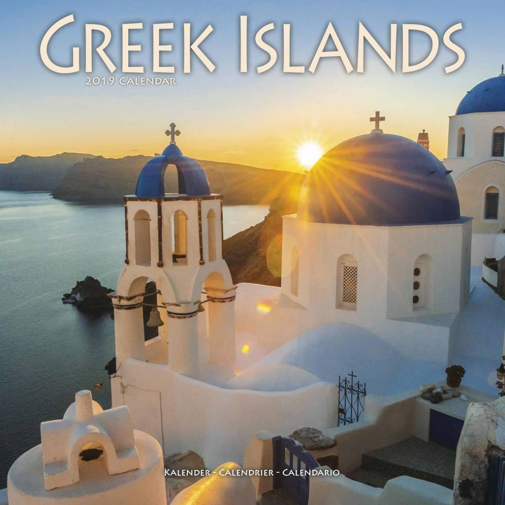 Calendar For Year 2019 Greece With Greek Islands Club UK
