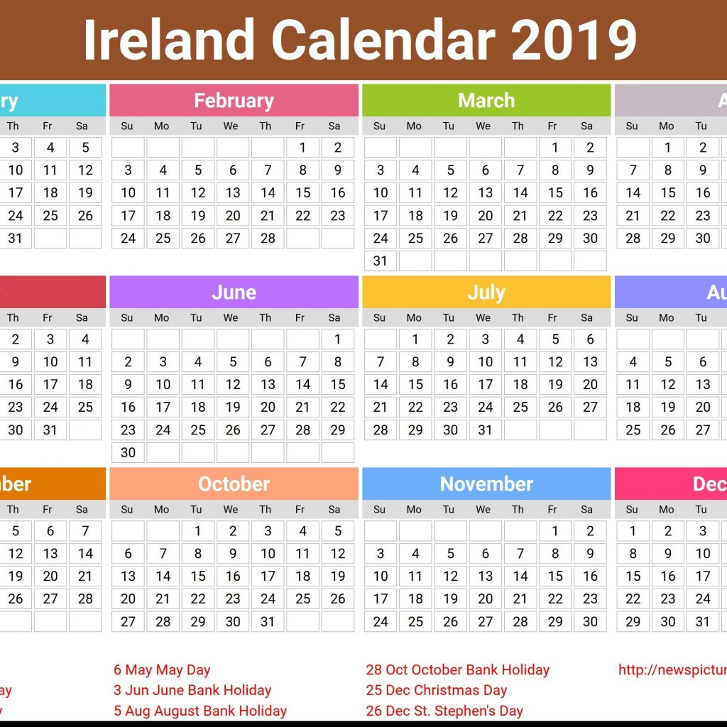 calendar-for-year-2019-ireland-with-imminent-routine-shop-uk-europe-appointments