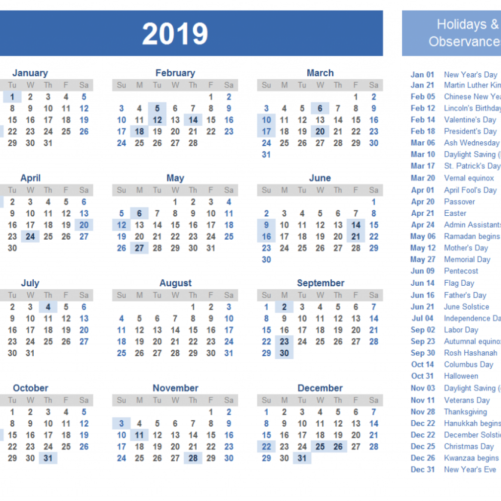 Calendar For Year 2019 Japan With Editable Printable Holiday July