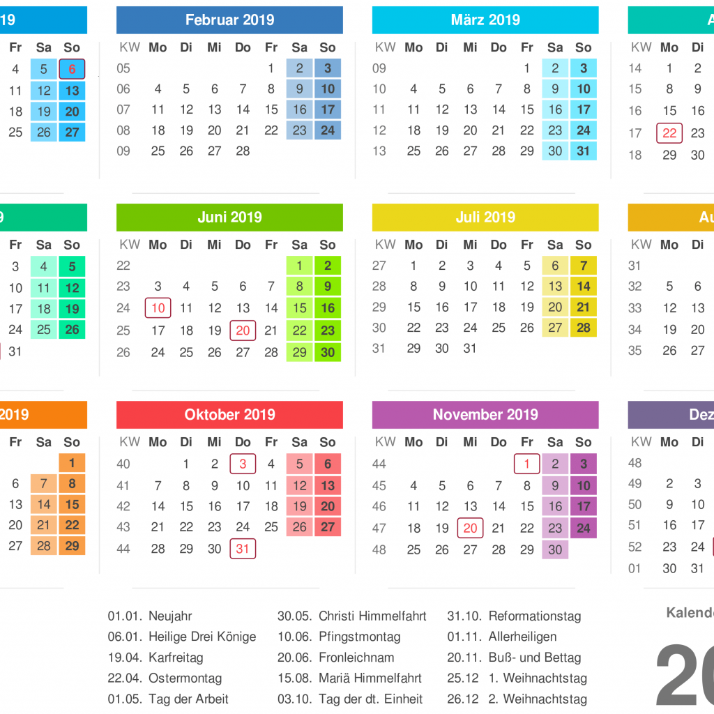 Calendar For Year 2019 Malaysia With Kalender 2 2018 Printable