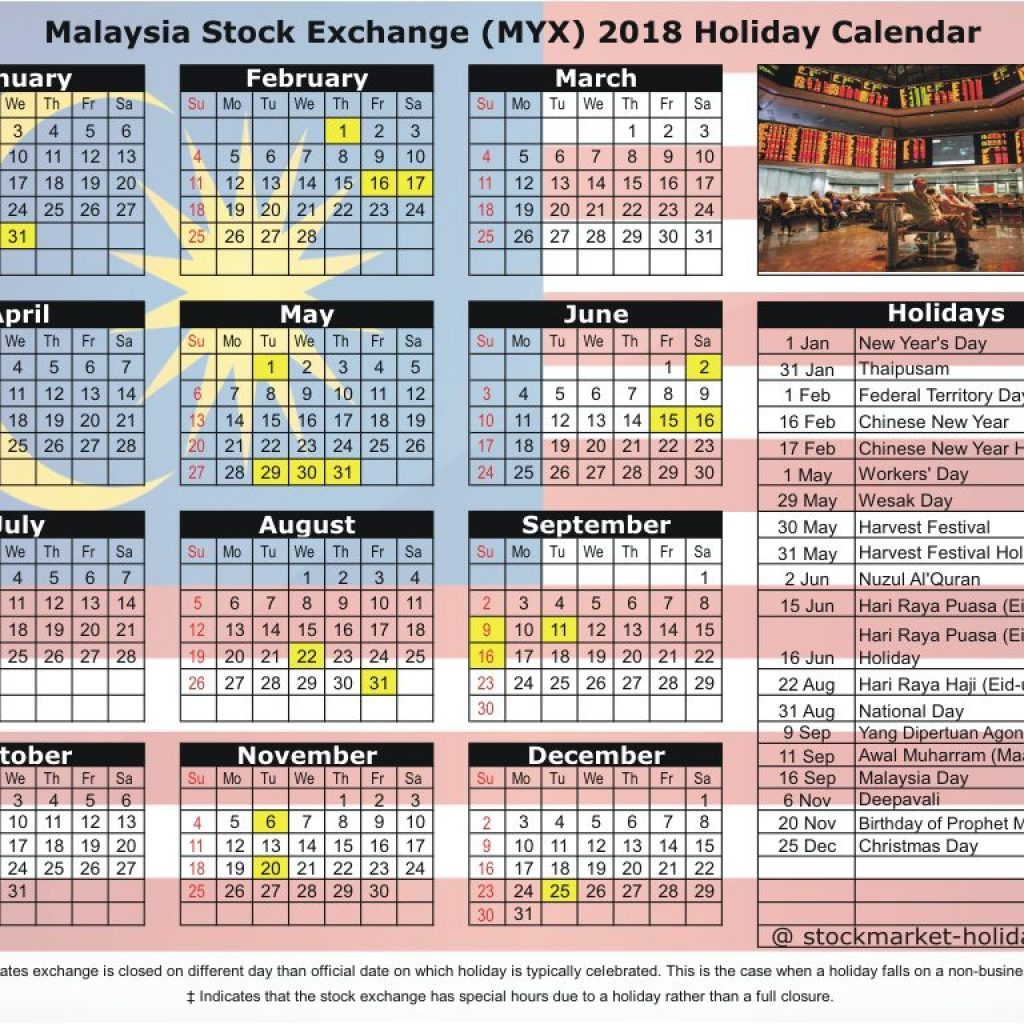 calendar-for-year-2019-malaysia-with-stock-exchange-2018-holidays-myx