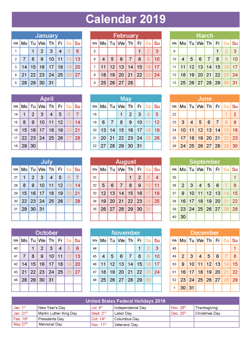 Calendar For Year 2019 South Africa With Yearly Template France Holidays Free Public