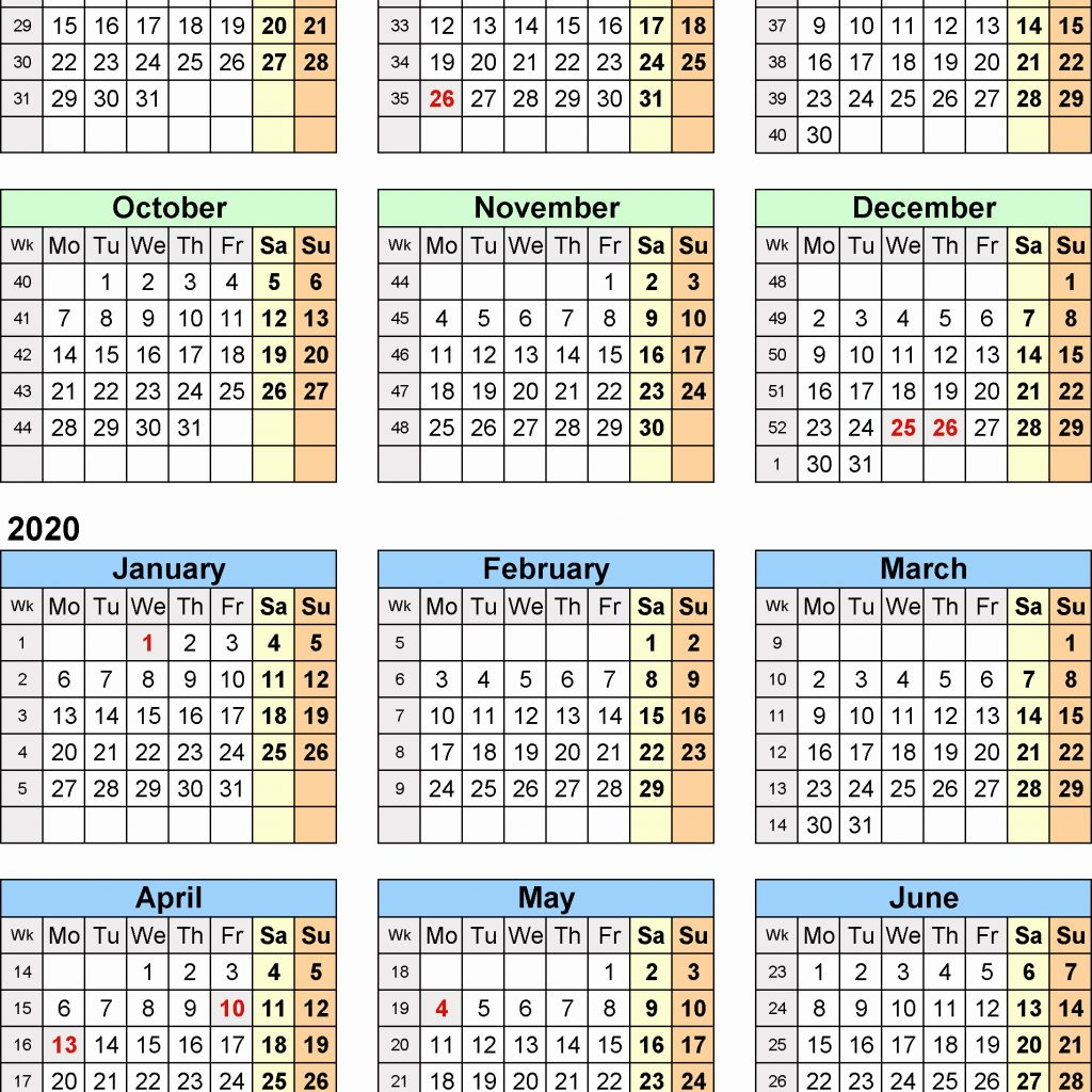 Calendar For Year 2019 Uk With New 37 Sample Abohmza Com
