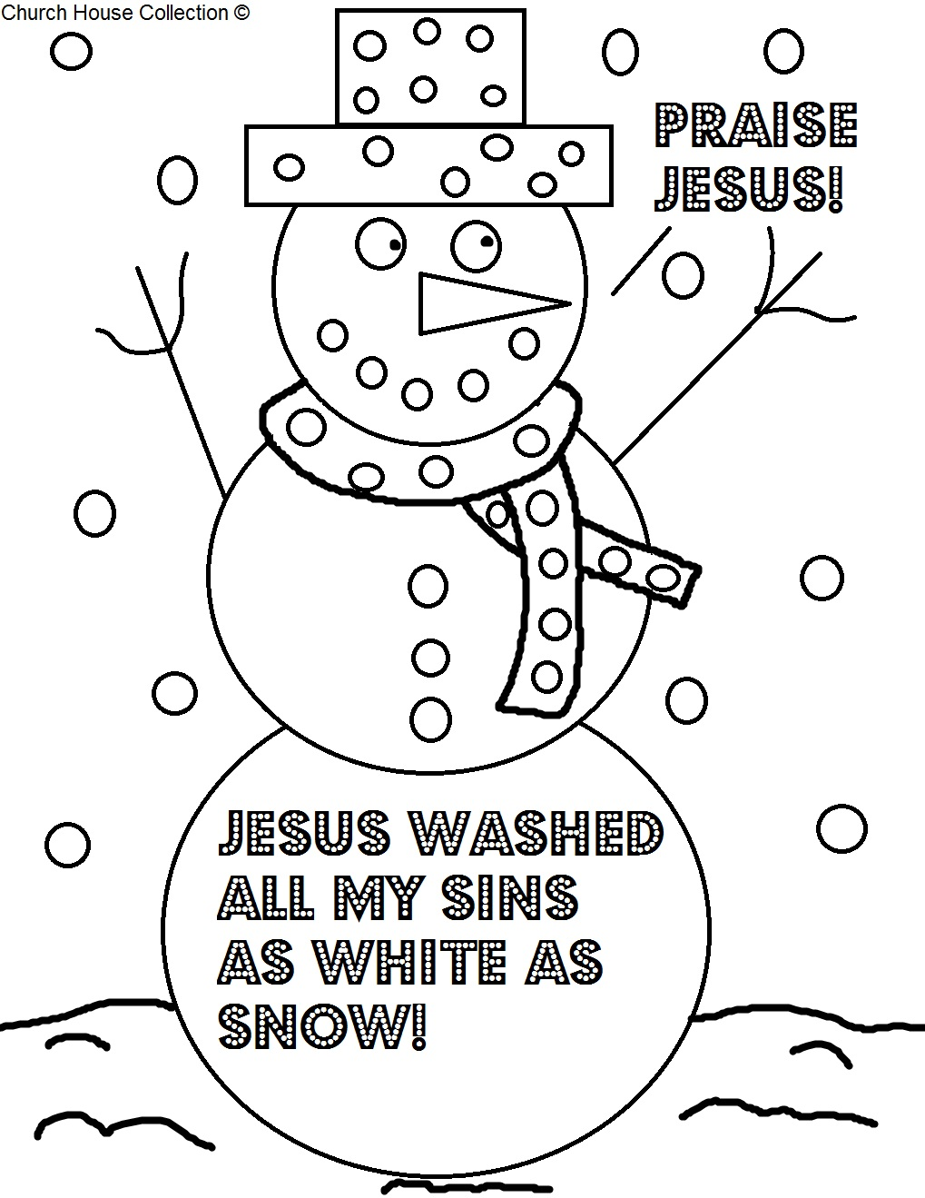 Children S Christian Christmas Coloring Pages Printable With Gamz Me