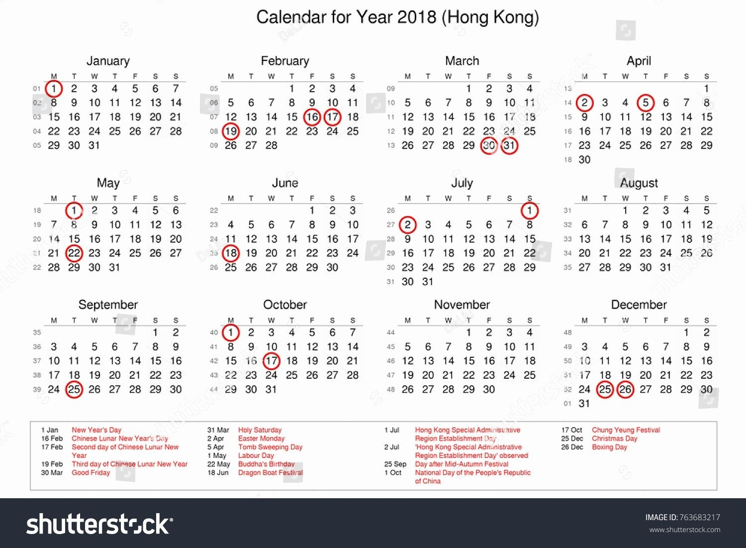Chinese New Year 2019 Calendar Hong Kong With October Template Etknlik In