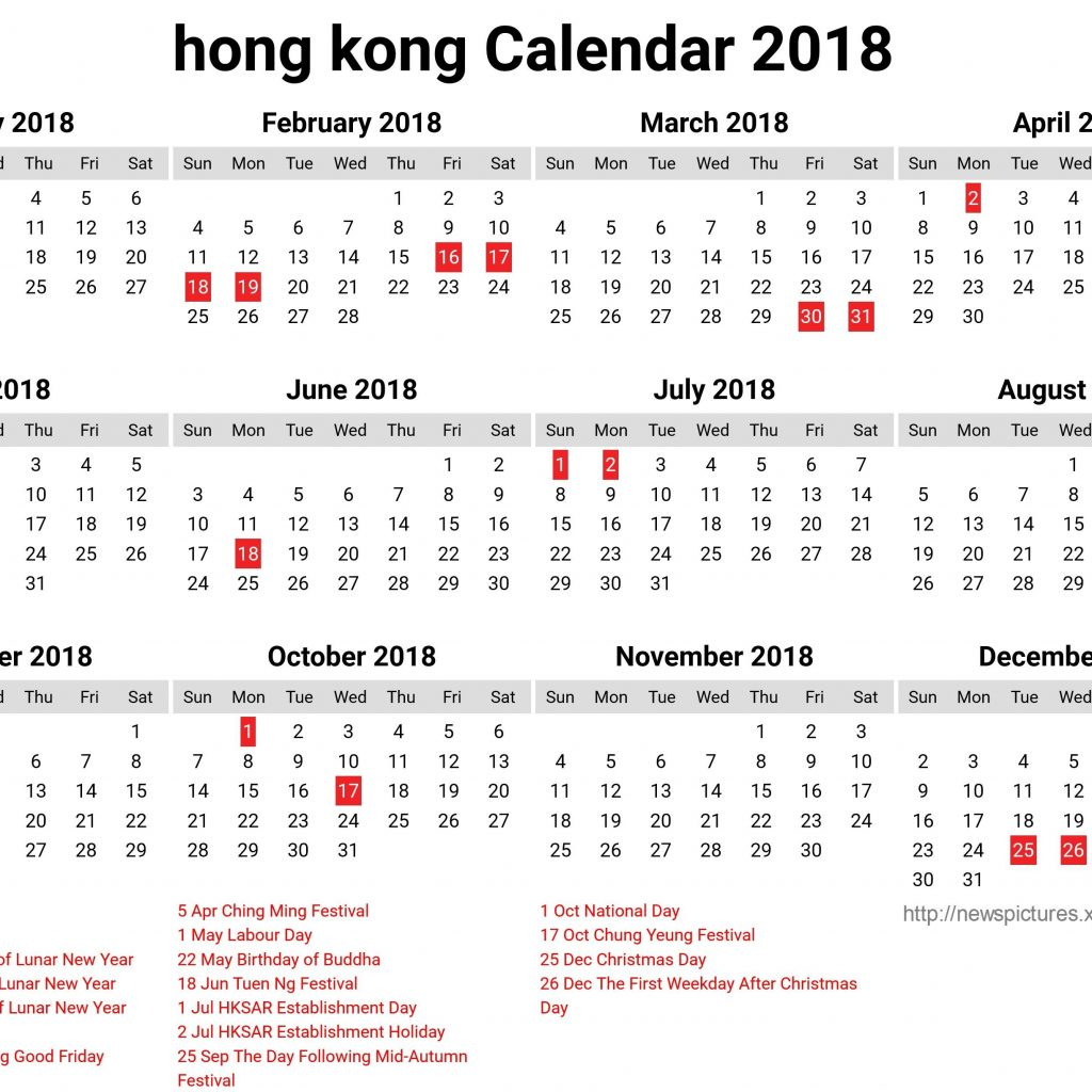 Chinese New Year 2019 Calendar Hong Kong With October Template Etknlik Within