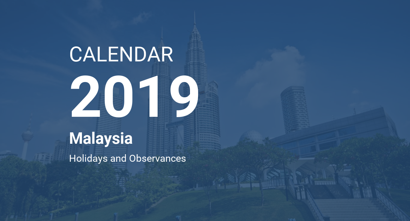 Chinese New Year 2019 Calendar Malaysia With