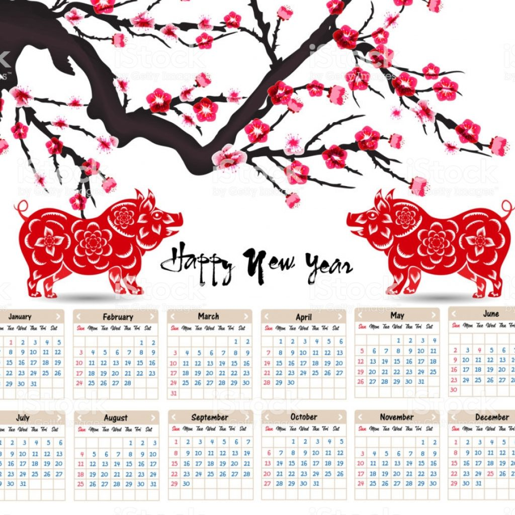 chinese-new-year-2019-calendar-with-for-happy-of-the