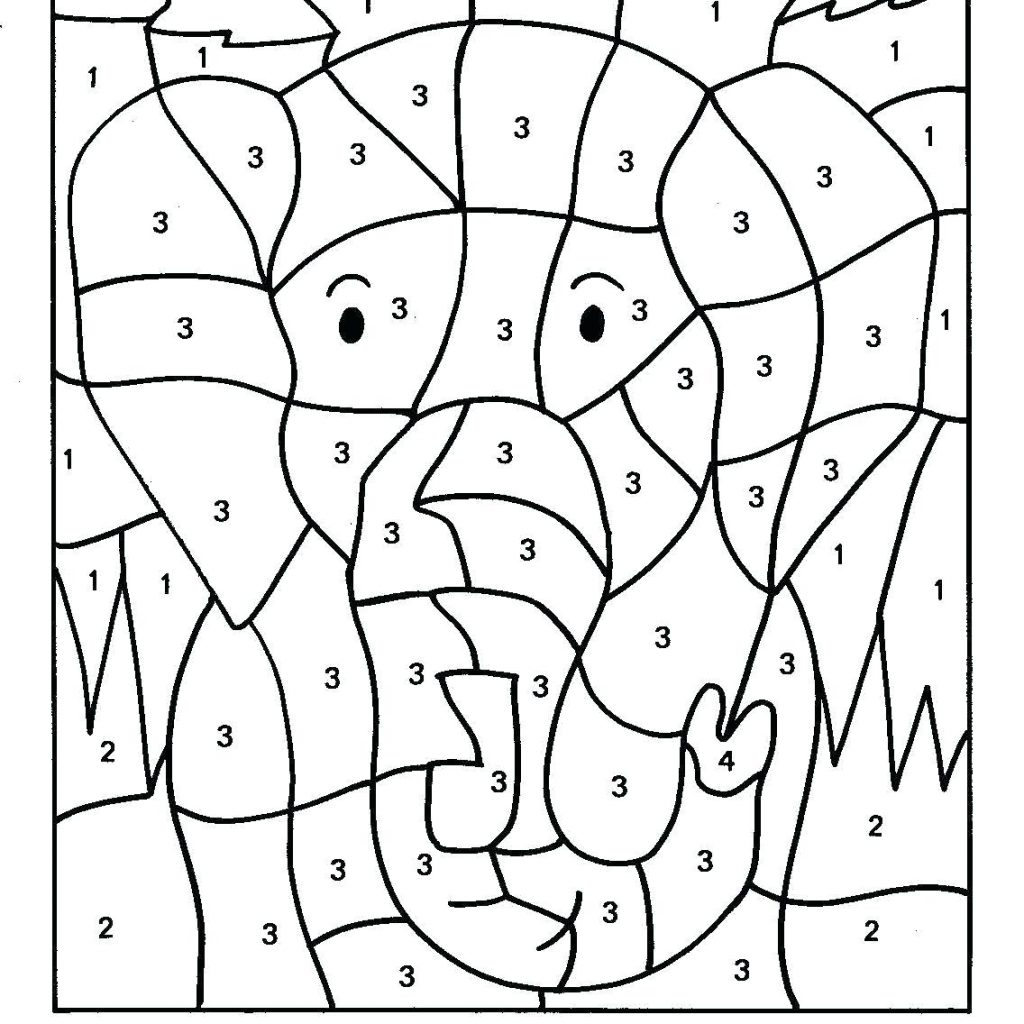Christmas Addition Coloring Worksheets With Color By Number Printables For Kindergarten Parenttalk Club