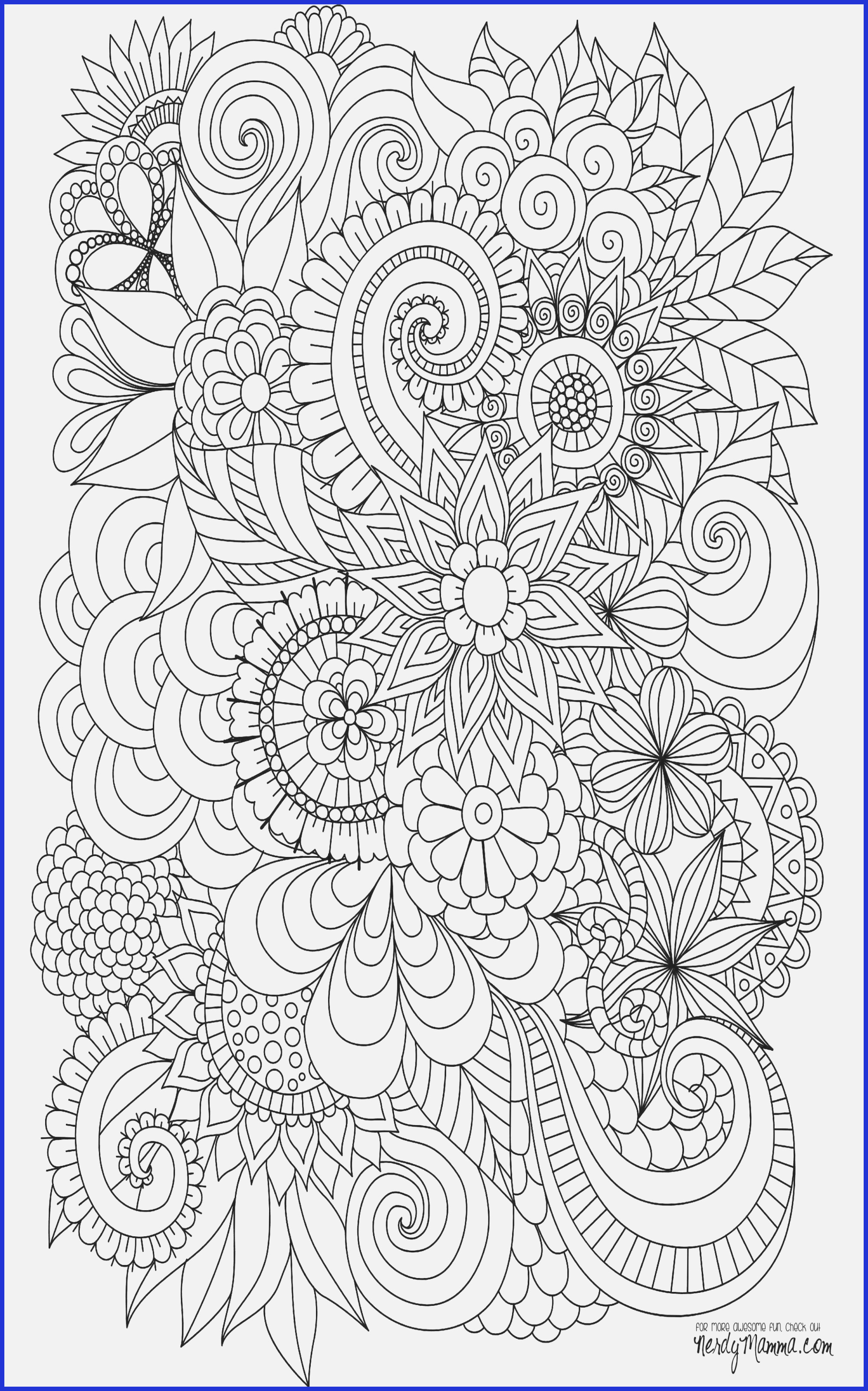 Christmas Advanced Coloring Pages With 14 Awesome Free Printable For Adults Www