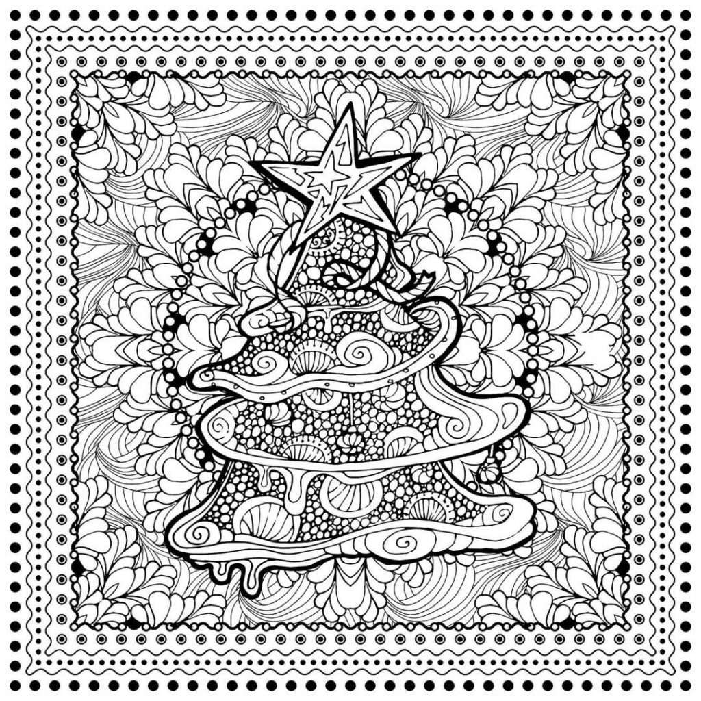 Christmas Advanced Coloring Pages With Mexican Luxury