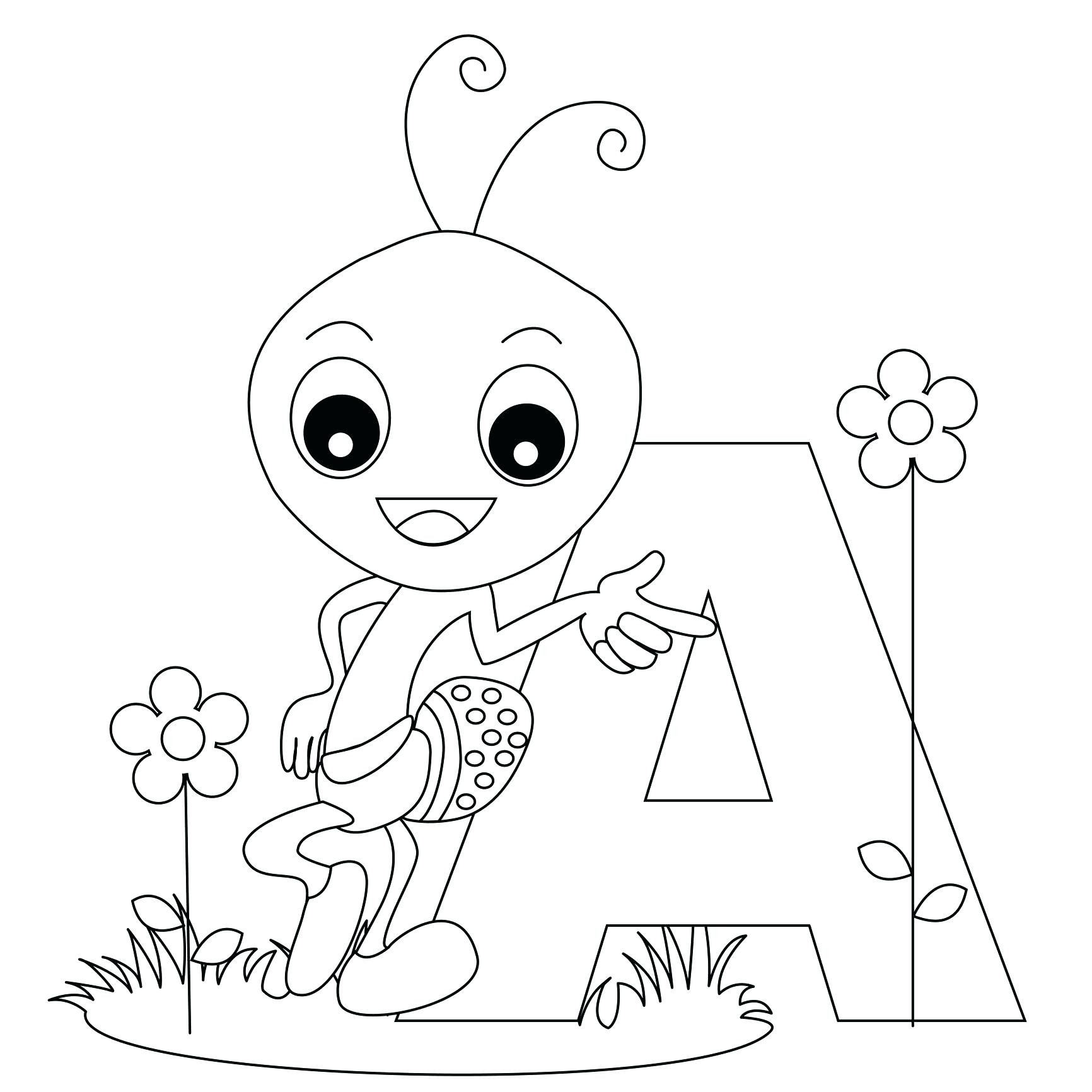 Christmas Alphabet Coloring Pages With Refrence Letter Free
