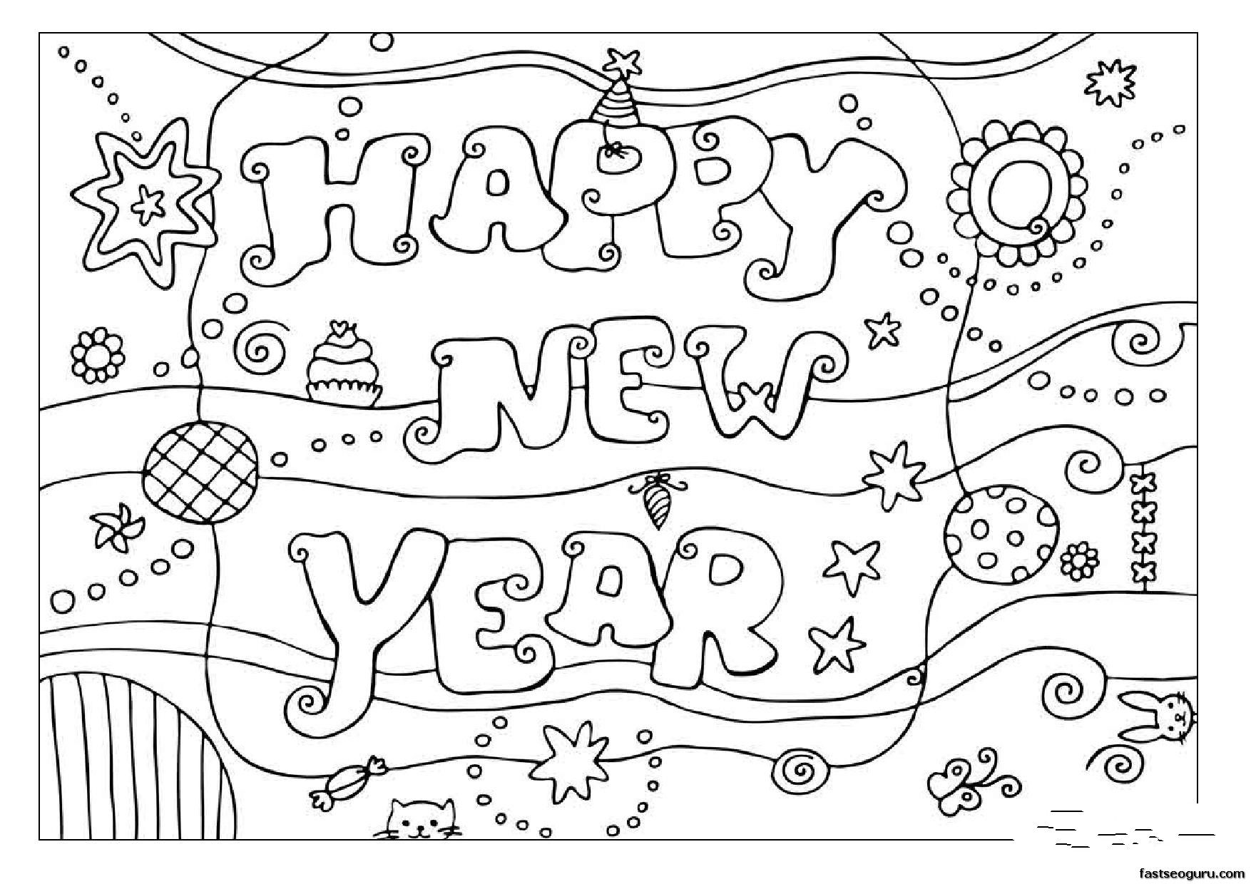 Christmas And New Year Coloring Pages With Lalaloopsy To Color Print