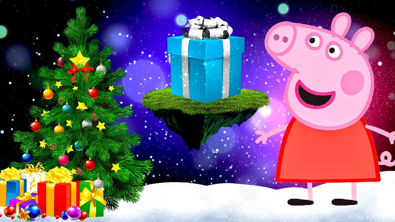 Christmas And New Year Coloring Pages With Peppa Pig Happy Ep 10 Merry Songs