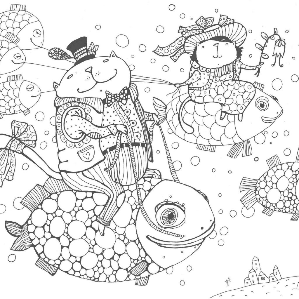 Christmas Angel Ornaments Coloring Pages Printable With Crafts Beautiful