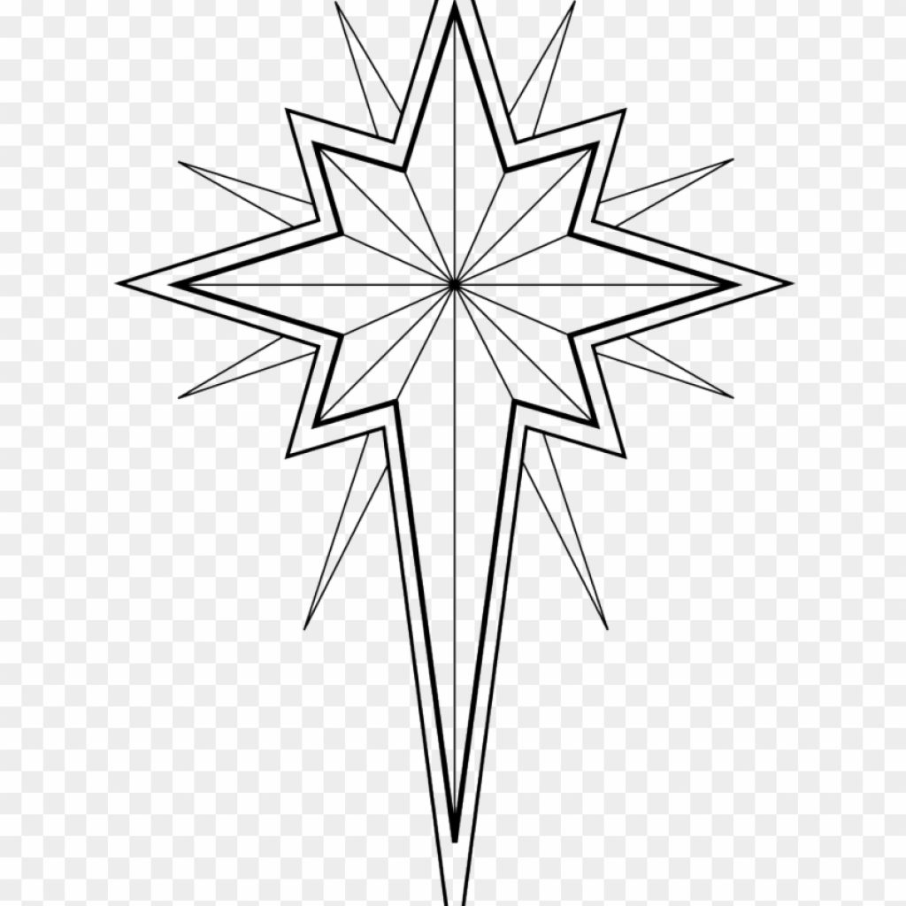 Christmas Art Coloring Pages With Stars Star