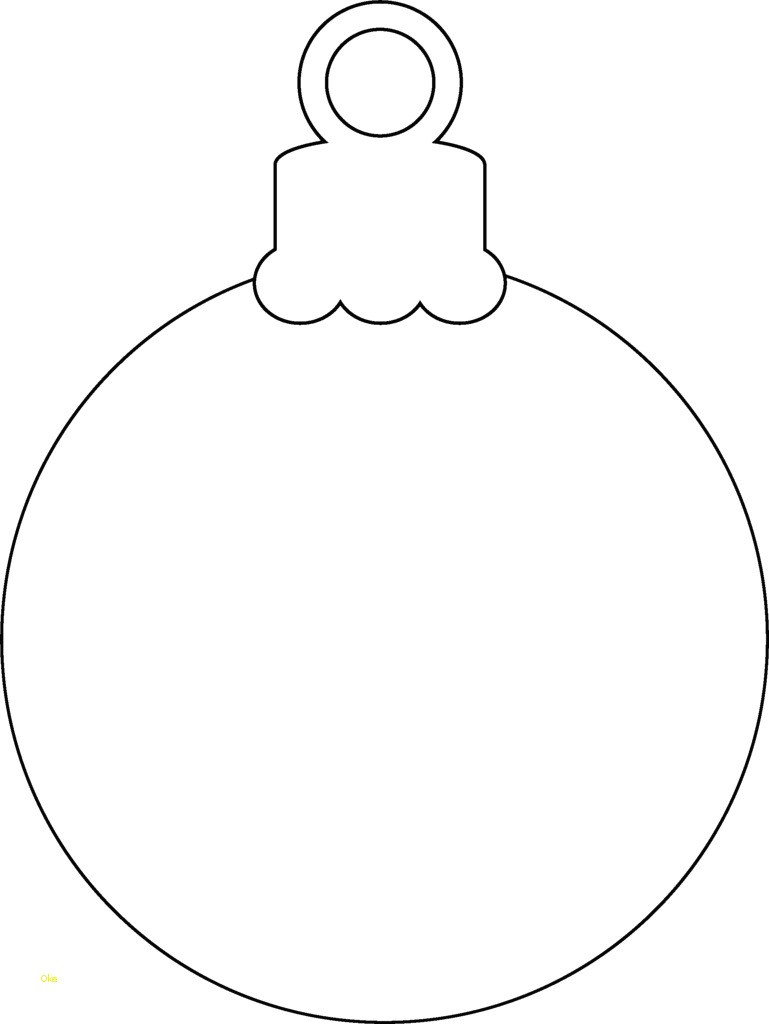 Christmas Ball Printable Coloring Pages With Breathtaking Ornament Template Light Page