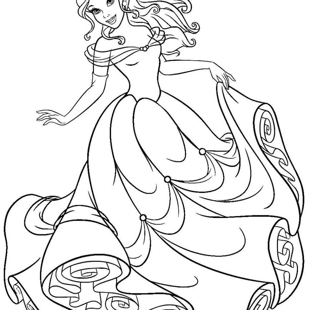 christmas-bell-coloring-pages-with-fascinating-princess-belle-page-colouring-online