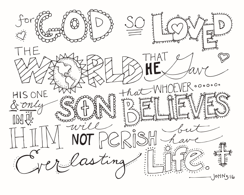 Christmas Bible Verse Coloring Pages With Christian Verses Free
