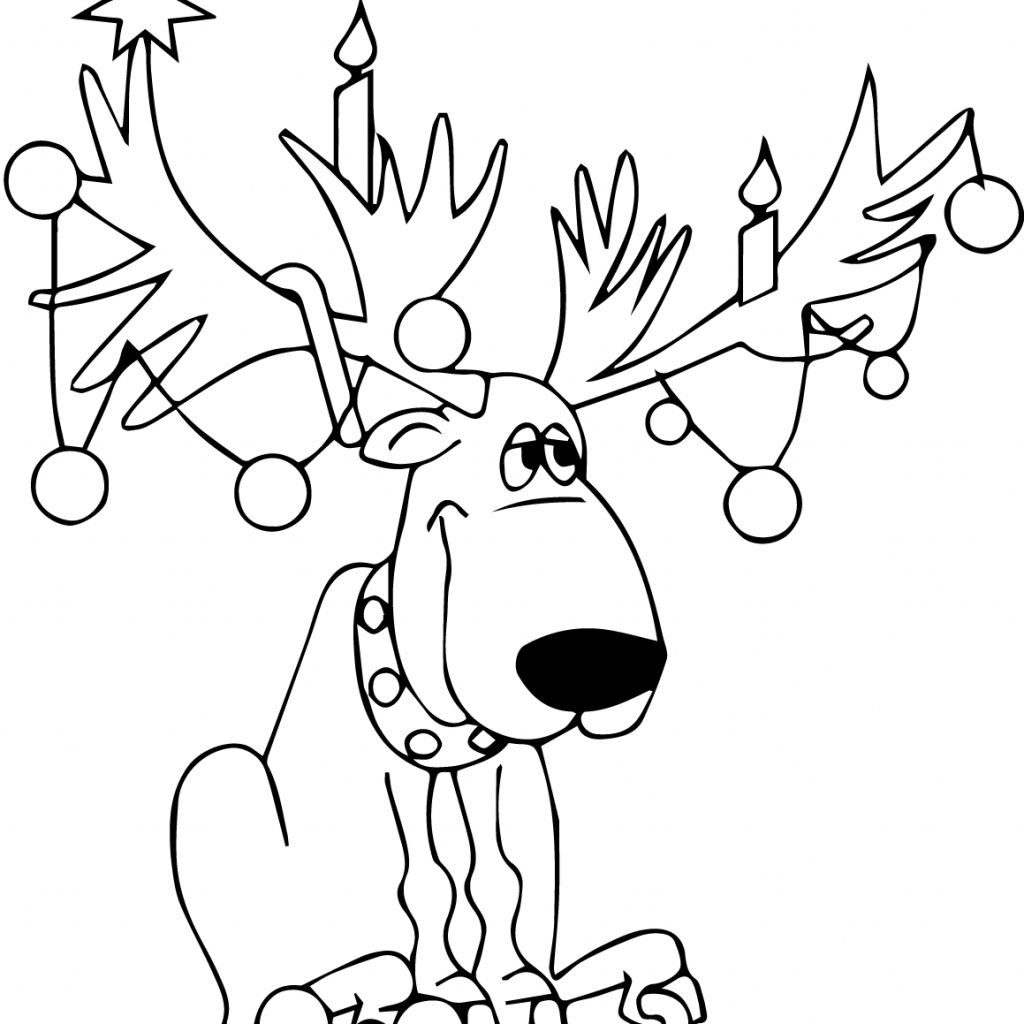 Christmas Bulb Coloring Pages Printable With Lights Free