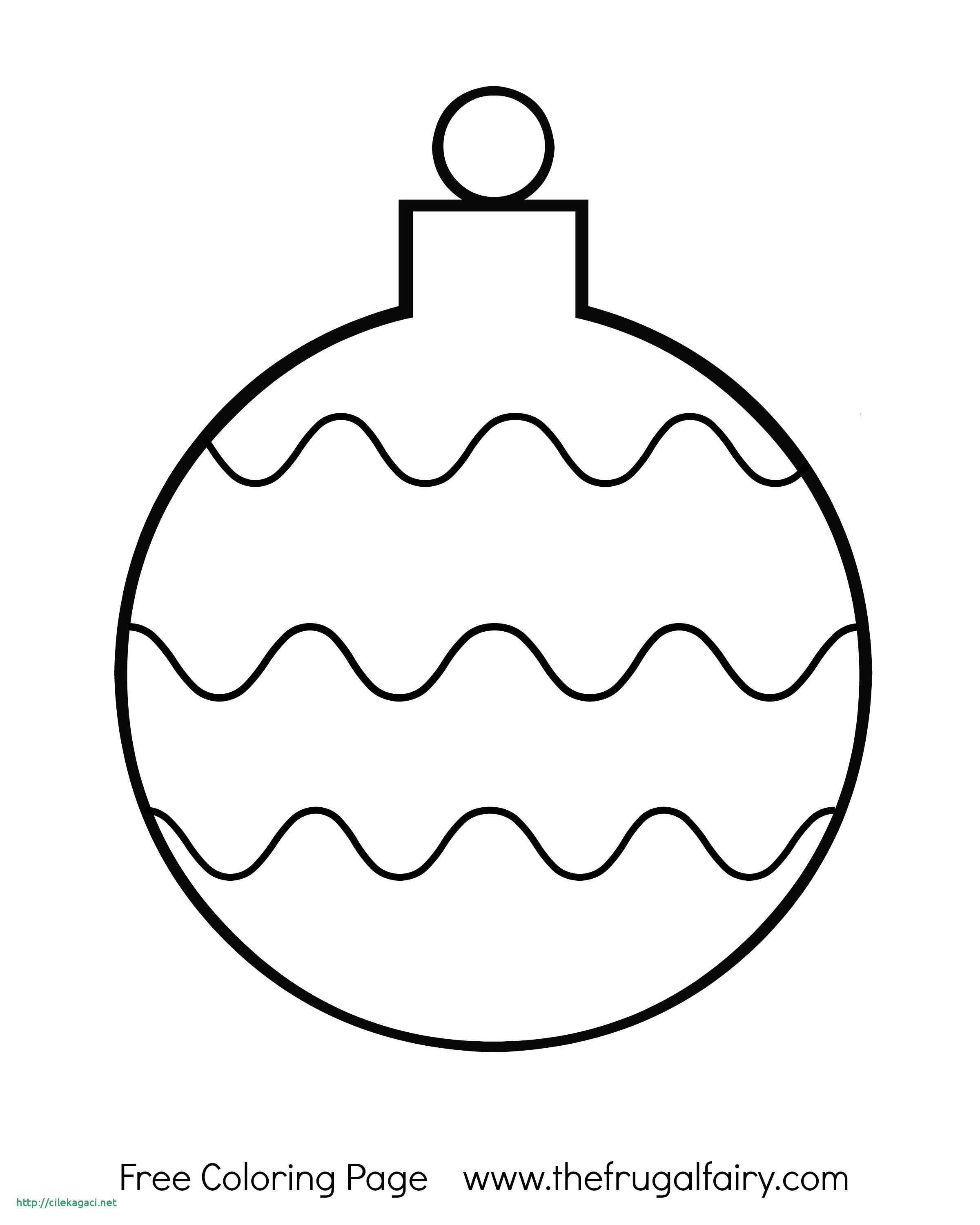 Christmas Bulb Coloring Pages Printable With Tree Light Page Educations For Kids