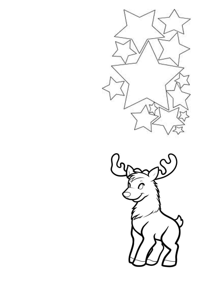 Christmas Card Coloring Pages Printable With Preschool Cards Lovely