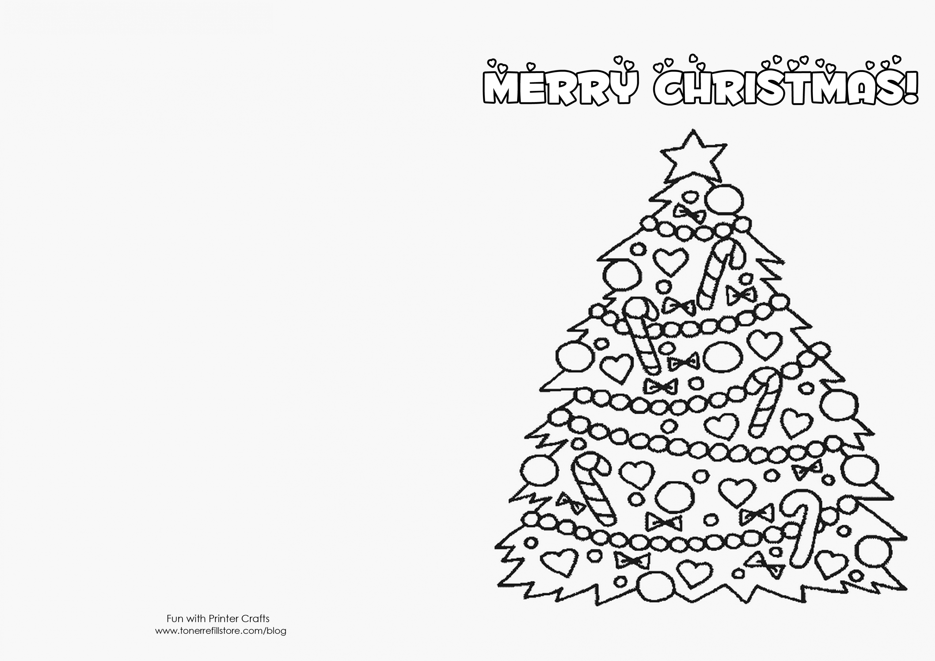 Christmas Card Coloring Pages With Cards Ideas In