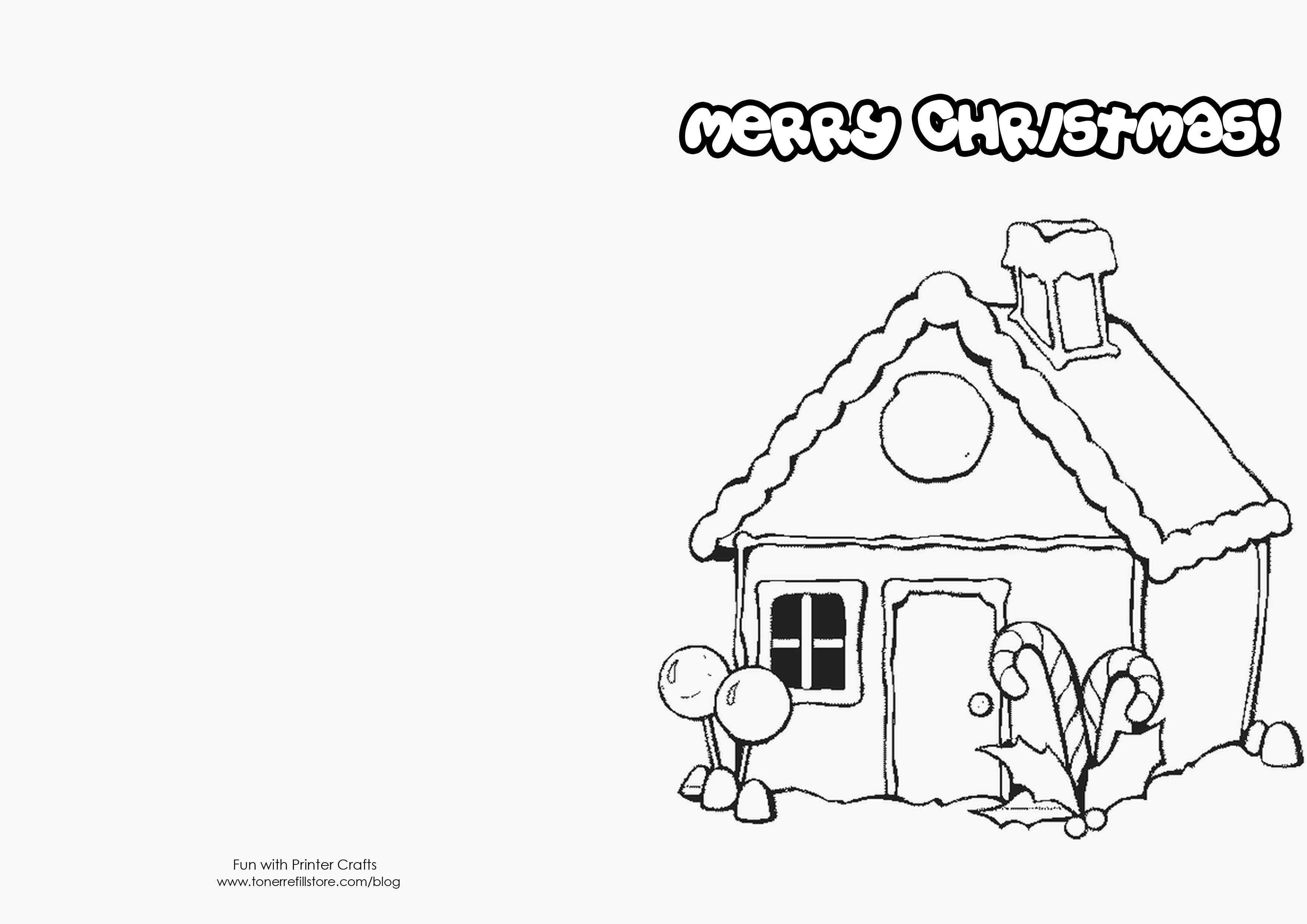 Christmas Card Coloring Pages With Cute Ideas To Draw New Cards