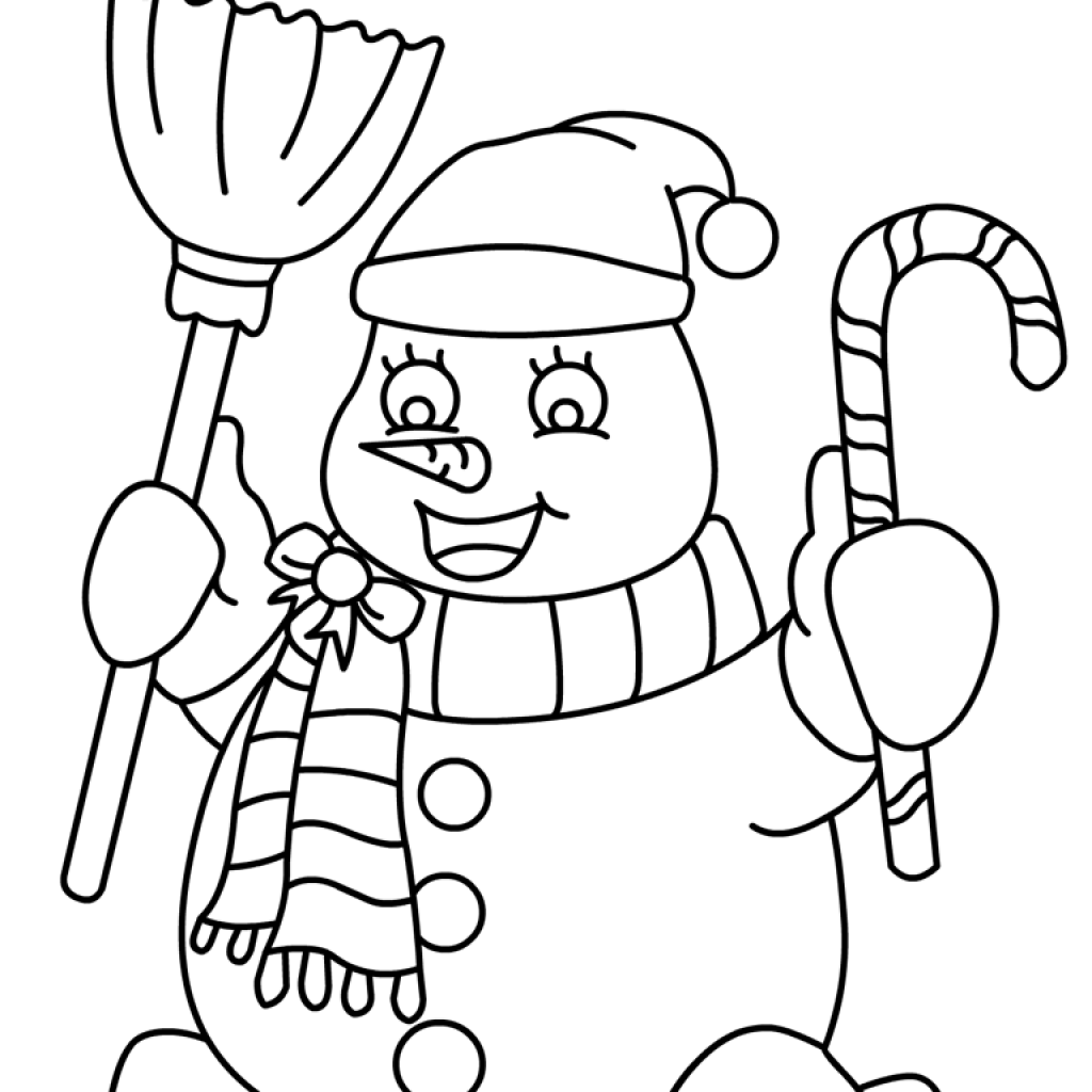 Christmas Card Coloring Pages With Free 538114